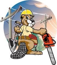 Gary designed the ICON for an electric company utility pole installer.