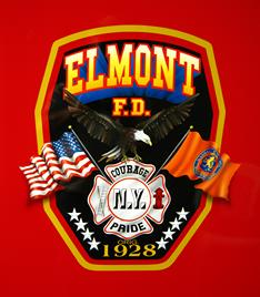 The ELMONT COMPANY PATCH is AIRBRUSHED onto the front doors of every new truck