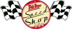 Original Pep Boys Speed Shop logo