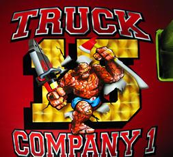 Heavy Rescue 15. Truck Company 1 AIRBRUSHED LOGO
